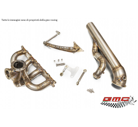 COLLETTORE INOX PER FORD ESCORT E SIERRA COSWORTH CON ATTACO TURBO TIAL CON WASTEGATE ESTERNA