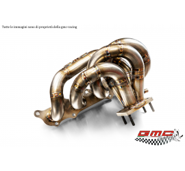 COLLETTORE IN INOX PER 1.4 T-JET ABARTH, FIAT, ALFA E LANCIA ATTACCO TURBO T25 CON TURBO SOTTO CON KIT DOWNPIPE