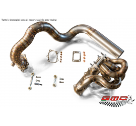 COLLETTORE MINI COOPER S R56 CON KIT DOWNPIPE