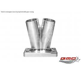 STAINLESS STEEL MANIFOLD FOR LANCIA DELTA 16V/EVO