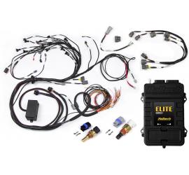 HALTECH Elite 2500 + Terminated Harness Kit per Nissan RB Twin Cam Con sottocoppia di tipo accensione ritardata (serie 2)