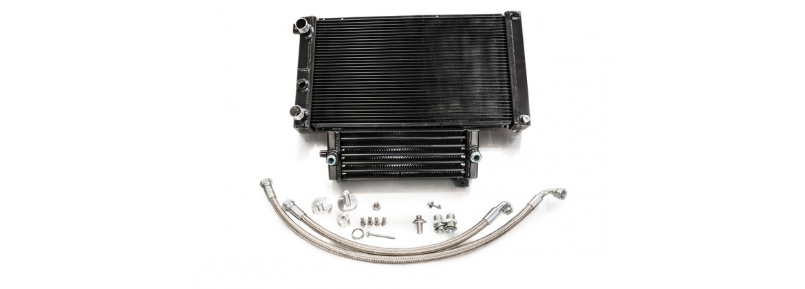 WATER AND OIL COOLER